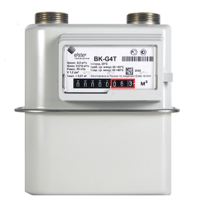 Счетчик газа Elster BK-G-4 (110)