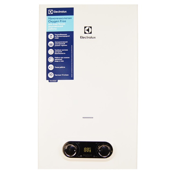 Водонагреватель газовый Electrolux GWH 10 NanoPlus 2.0 НС-1017795