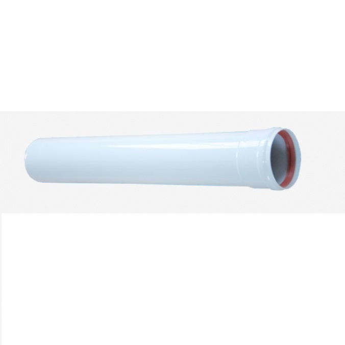 Удлинительная труба d 80 мм, 0,5 м Vivat d 80/120 мм