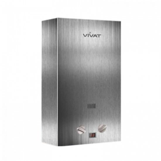 Водонагреватель газовый Vivat SLV 20-10 NG 1 серебро