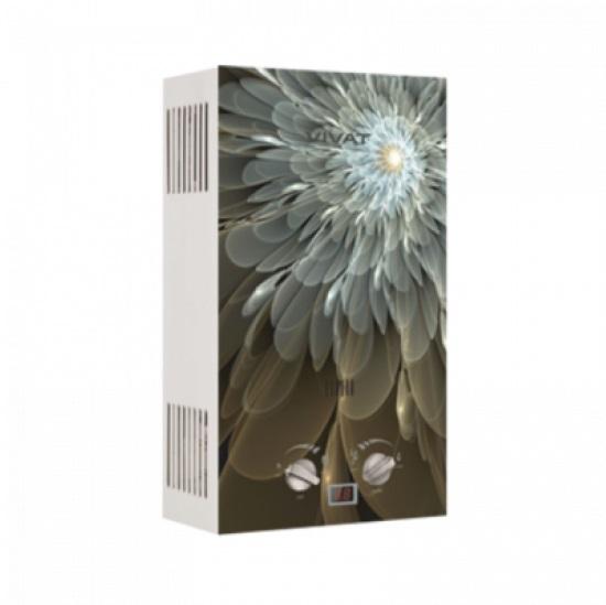 Водонагреватель газовый Vivat GLS 20-10 Z NG 2938801246946 абстракция цветок