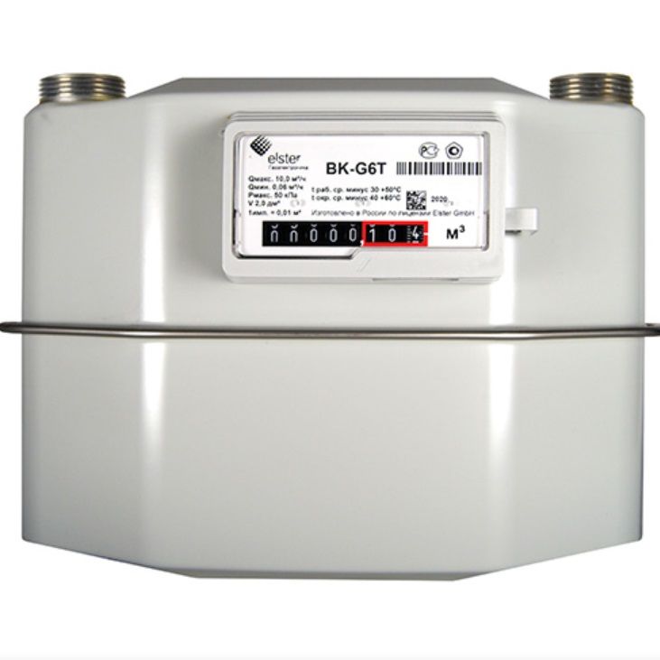 Счетчик газа Elster BK-G-6T