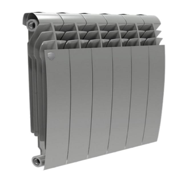 Радиатор биметаллический Royal Thermo Biliner 500 new/Silver Satin производство Италия