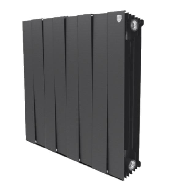 Радиатор биметаллический Royal Thermo PIANOFORTE 500 /Noir Sable производство Италия