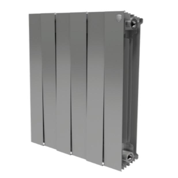 Радиатор биметаллический Royal Thermo PIANOFORTE 500 /Silver Satin производство Италия