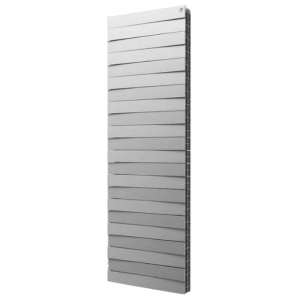 Радиатор биметаллический Royal Thermo PIANOFORTE TOWER 18 Silver Satin производство Италия